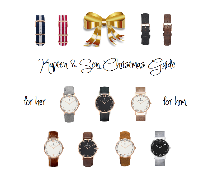 X-MAS WITH KAPTEN & SON: GIFT GUIDE FOR HIM AND HER