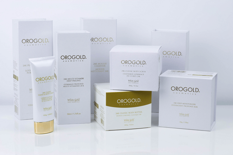 MY FIRST EXPERIENCE WITH OROGOLD COSMETICS
