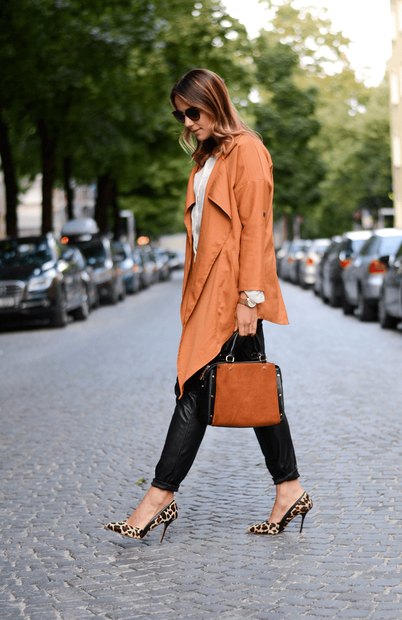 OLDER CLOTHES, LEATHER PANTS & LEO LOVE