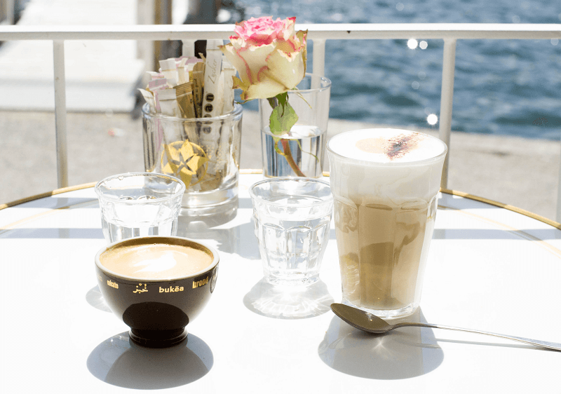 MUNICH GUIDE: CAFÉ ARAN AT LAKE TEGERNSEE