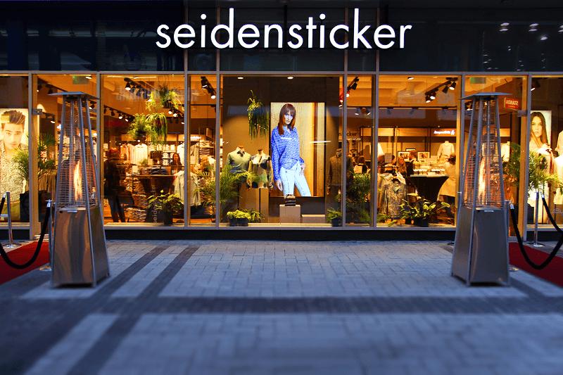 Seidensticker Store Opening Cologne