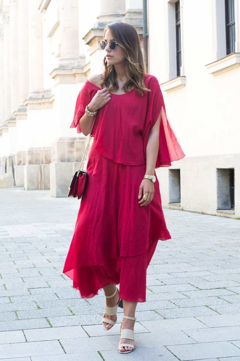 Outfit rotes Kleid (2)