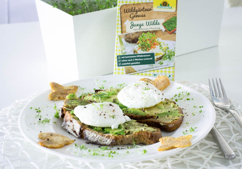 FOOD GUIDE: AVOCADO BREAD WITH EGGS BENEDICT & FRESH HERBS