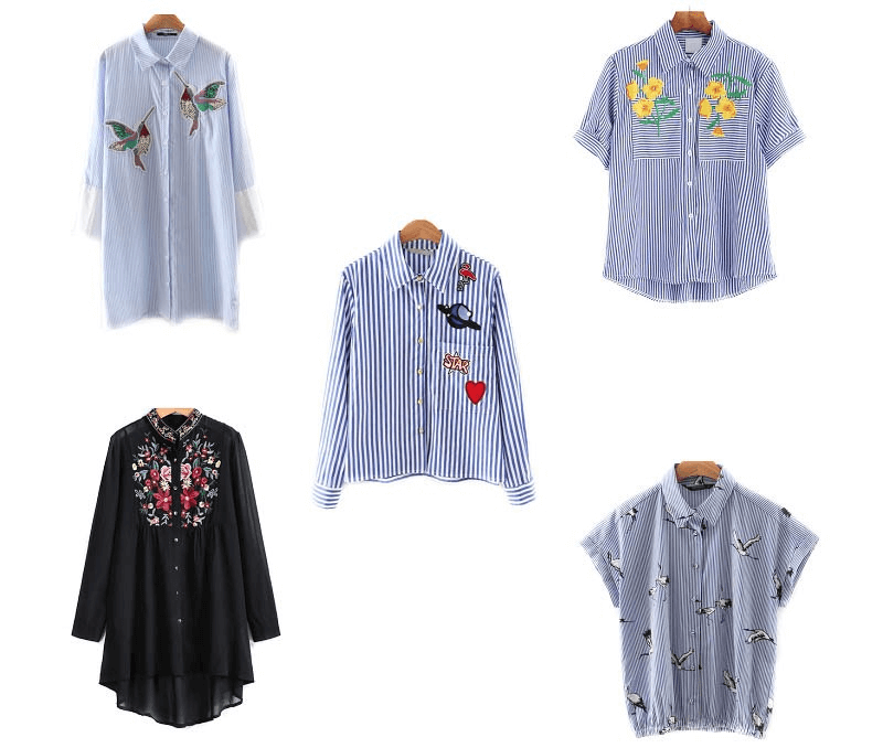 SHOP THE TREND 2016 – EMBROIDERED BLOUSES